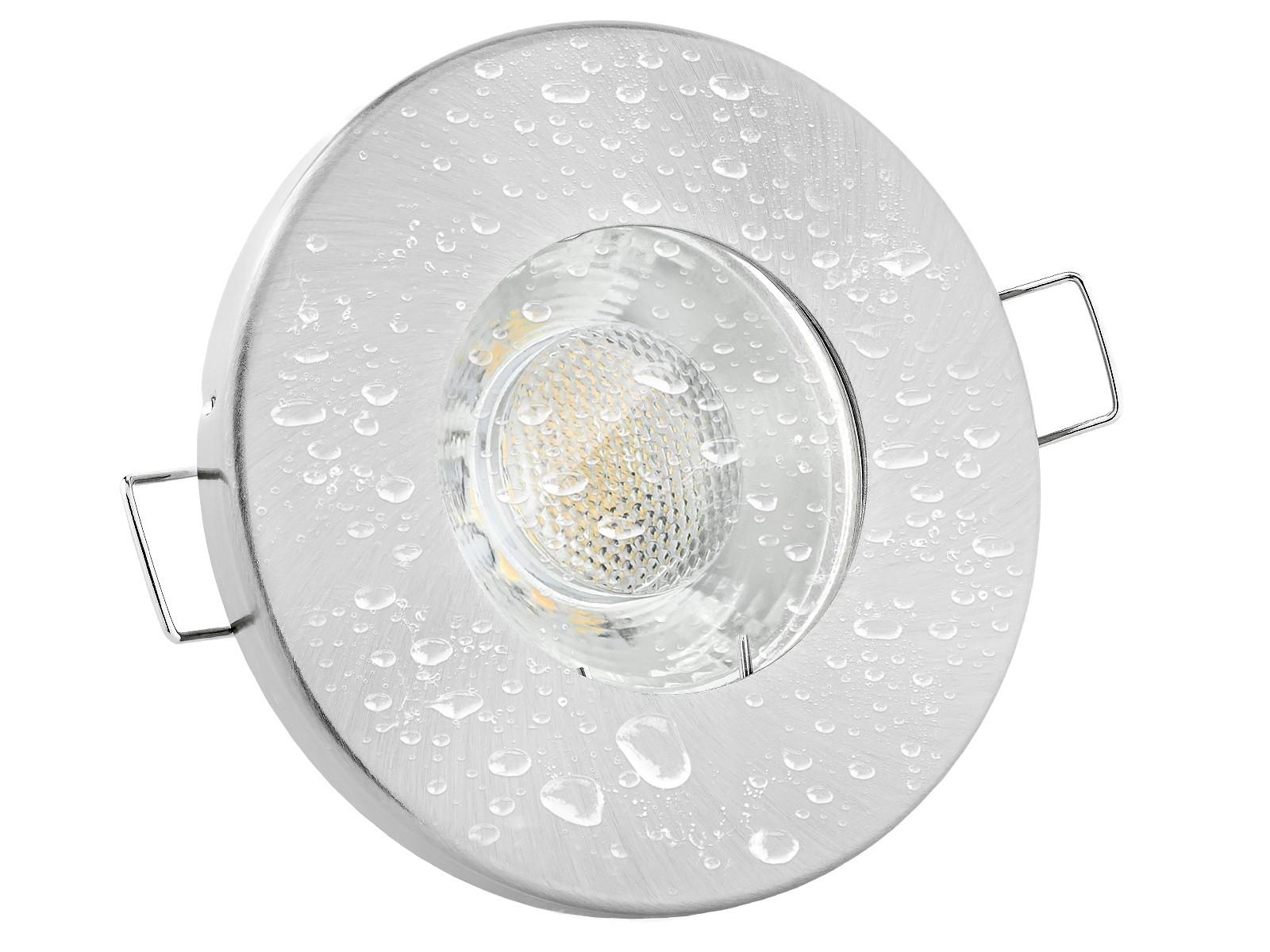 Einbaustrahler-IP65-Rund-Alu-Front-Wasser Fabelhafte Feuchtraum Led Einbaustrahler 230v Dekorationen