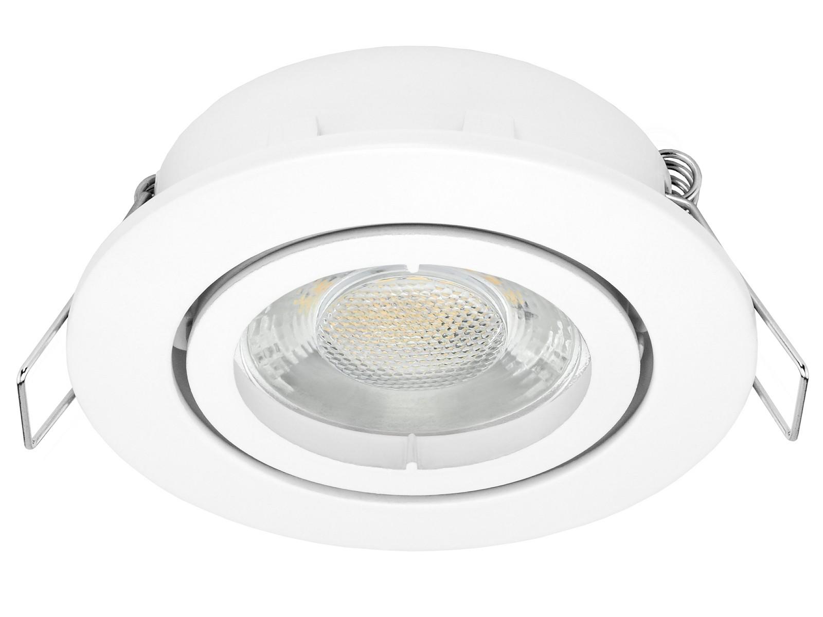 LED-Einbaustrahler-weiss-Rund-Einbaubeispiel Luxus Led Einbaustrahler Mit Trafo Dekorationen